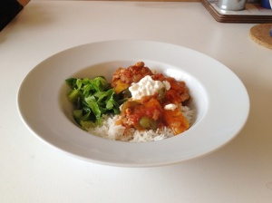 Yummy paprika chicken stew