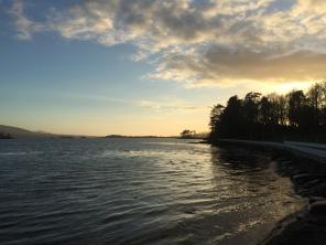 Stunning sunsets at Dromquinna